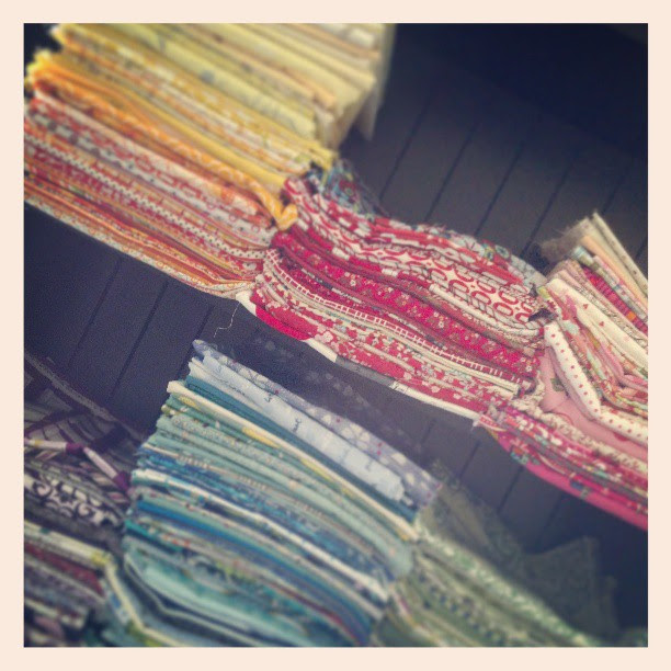 Moving my entire fabric stash to one location #toomuchwork #ratherbequilting