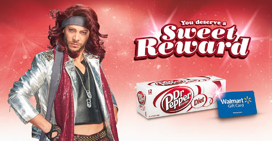 Score Sweet Rewards at Walmart with Diet Dr Pepper