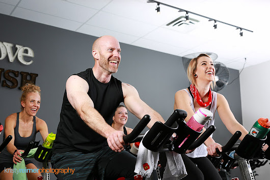 Airdrie Commercial Photography- PUSH Cycling Studio