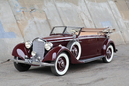 1938 Mercedes-Benz 320 Cabriolet B Stock # 22272 for sale near Astoria, NY | NY Mercedes-Benz Dealer
