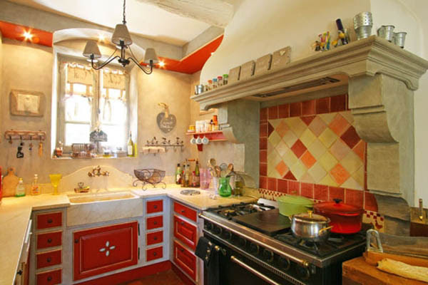 Red And Yellow Kitchen Decor Dream House