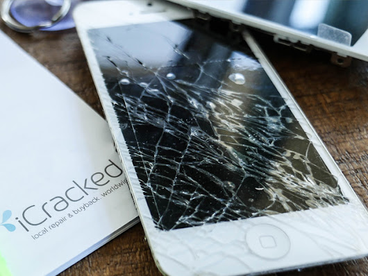 The Most Convenient Way to Repair Your Cracked Screen!