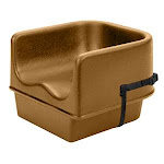 Cambro 100BCS-157 - Polyethylene Booster Seats w/ Strap (4 per Case)