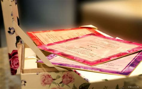 Exclusive Designer Wedding Cards Delhi   Designer Wedding