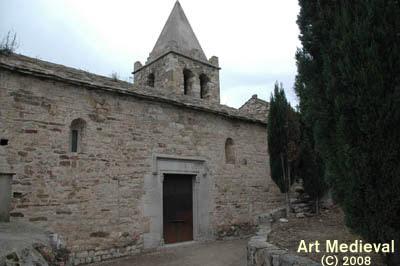 la vella parròquia de Sant Julià de Ramis, del segle XI, ha restat com a santuari sota l'advocació dels antics patrons secundaris, sant Cosme i sant Damià