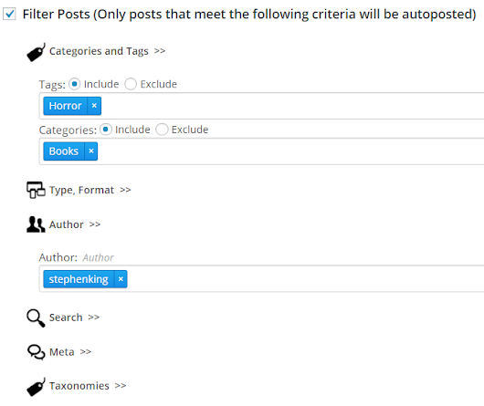 Upcoming Version 4 Features: Post Filters - NextScripts