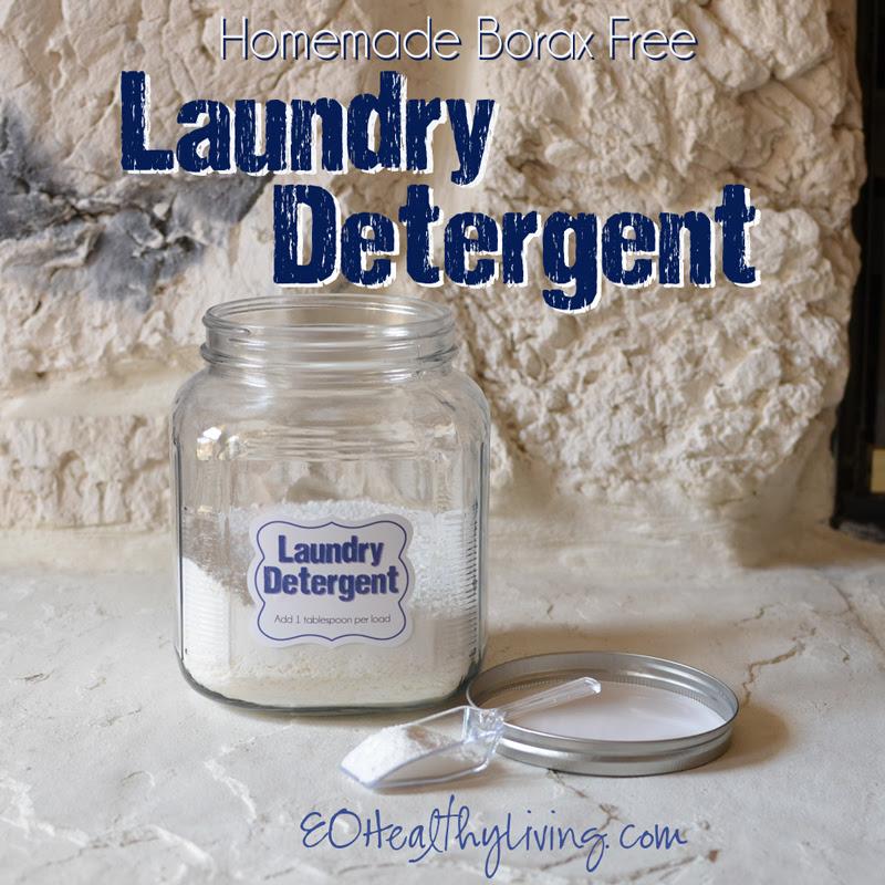 Homemade DIY Laundry Detergent - Borax Free