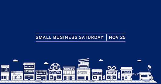 Small Business Saturday is on Nov 25