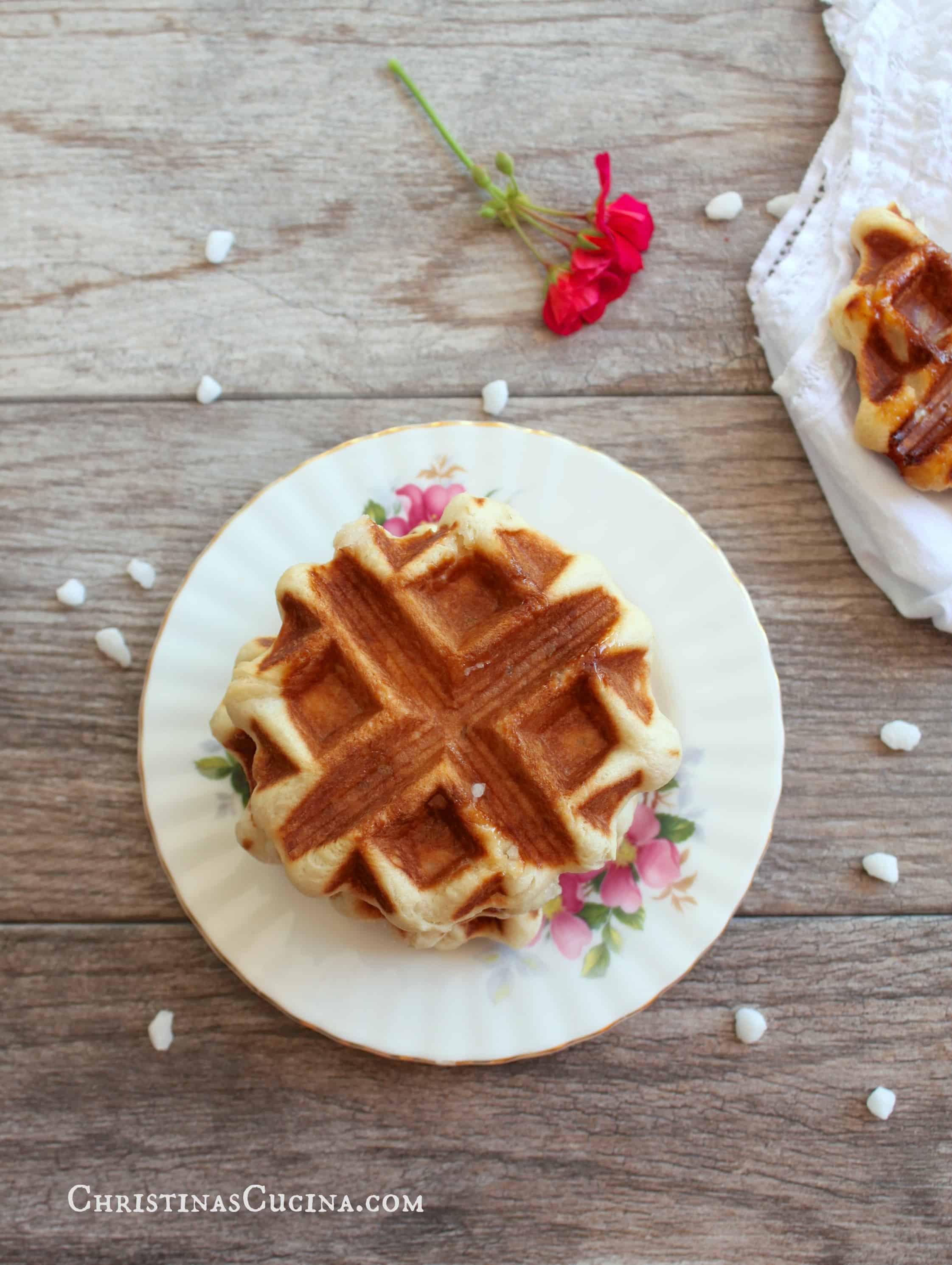 authentic belgian waffle recipe yeast