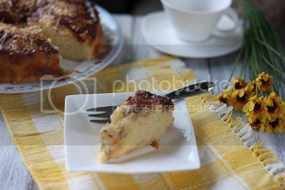 Moist apple cake 4