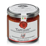 Frantoi Cutrera Capuliatu Red Pesto with Sun Dried Tomatoes and Parsley, 6.7 oz | By Supermarket Italy