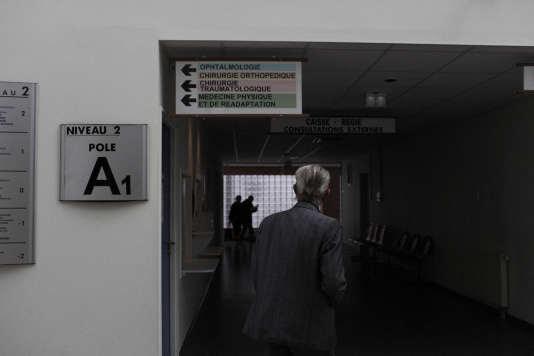 A l'hôpitalPierre-Bérégovoy de Nevers, le 28 avril 2017.