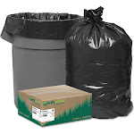 Earthsense Commercial Black Can Liners, 40-45 Gallon, 100 Count