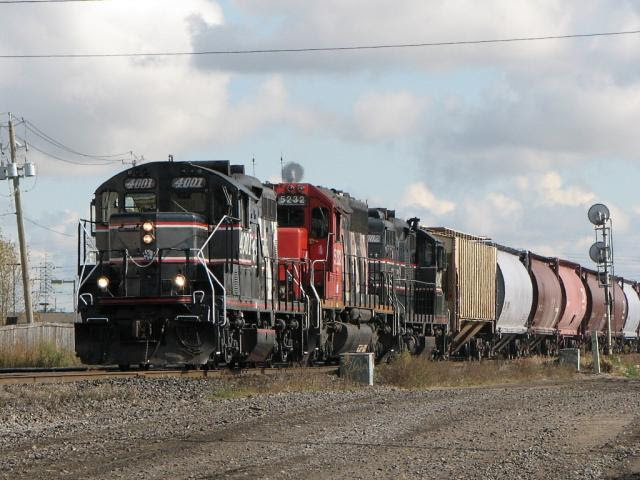 CEMR 4001 in Winnipeg