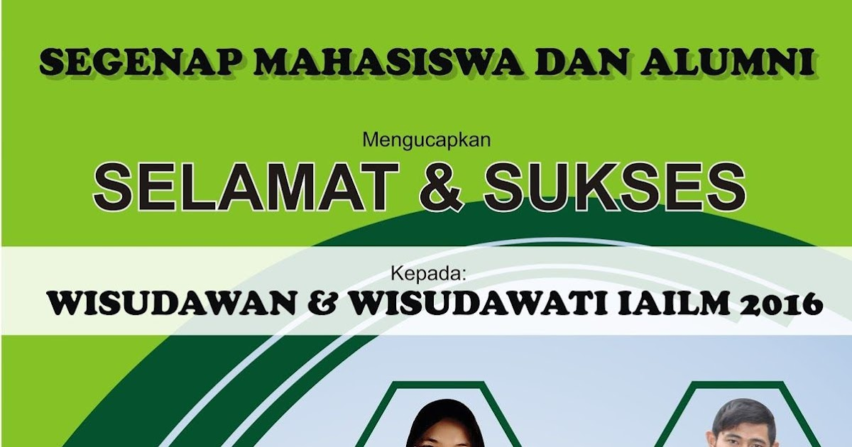 Contoh Banner Ucapan Selamat - desain spanduk keren