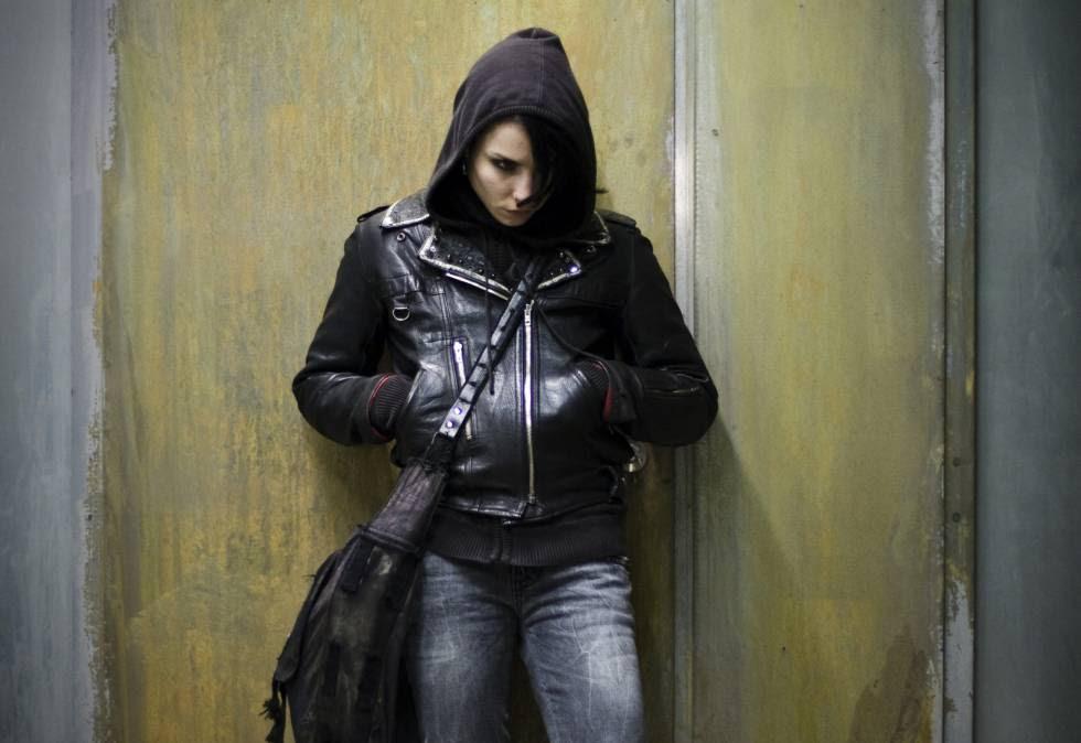 La actriz Noomi Rapace, como Lisbeth Salander.