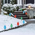 Seasonal Specialties, LLC 1900377 LED Faceted Pathway Lights Set