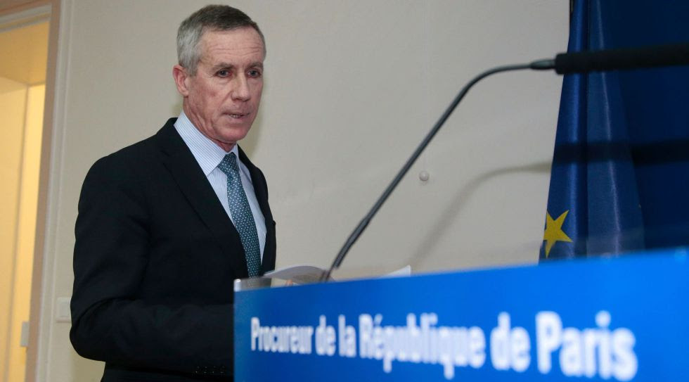 El fiscal Molins, durante la rueda de prensa.