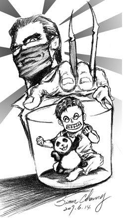 貓熊與牙醫