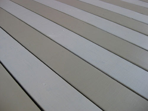How To Paint A Wood Deck Or Front Porch   Young House Love