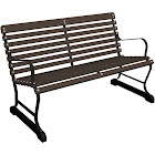 Ivy Terrace IVB48FBLMA Vintage 2-ft Outdoor Bench