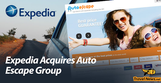 Expedia Acquires European Car-Rental Company Auto Escape Group | Car Rental | Main