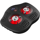 Gideon Shiatsu and Acupuncture Foot Massager with Infrared Heat 8 Shiatsu Nodes + Heals & Toes Reflexology Acupuncture Points - Soothes & Relaxes