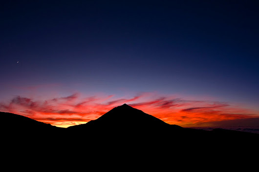 Book - Teide By Night