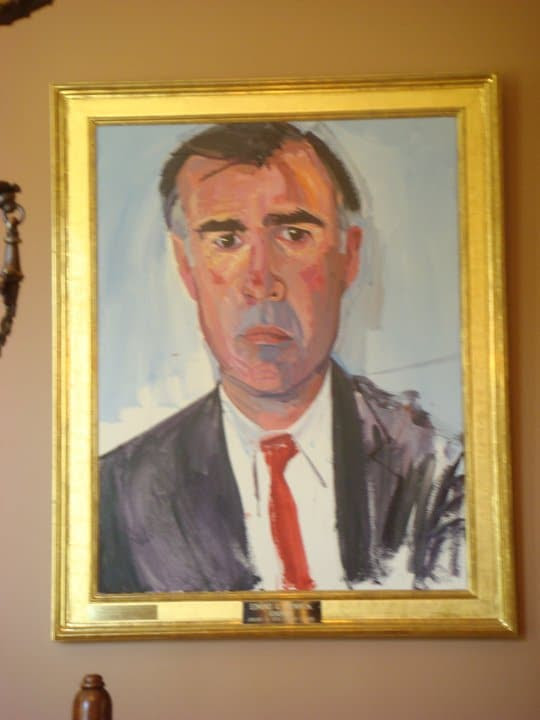 California Gov. Jerry Brown's official gubernatorial portrait (via Facebook)