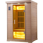 Infrared Sauna - 2 Person Bliss Basswood