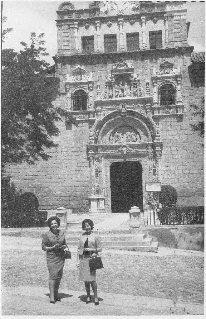Museo de Santa Cruz (Toledo) en mayo de 1962. Fotografía de Eduardo Butragueño Bueno