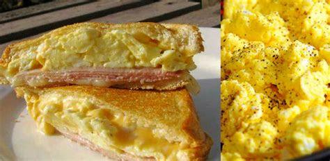 menu ringkas bertenaga resipi sandwich telur berkeju