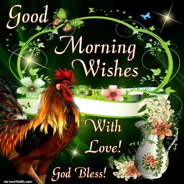 Good Morning Wishes With Love Pictures Photos And Images For