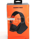 Sharper Image SHP2500OR Universal Foldable Headphone with Mic