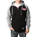 Von Dutch Men's Full-Zip Hooded Fleece Sweatshirt