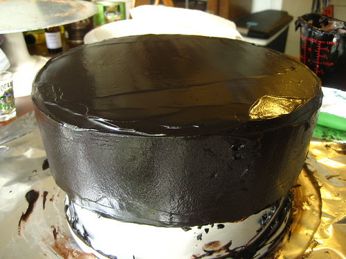 Brains' Deep Chocolate Passion Birthday Cake