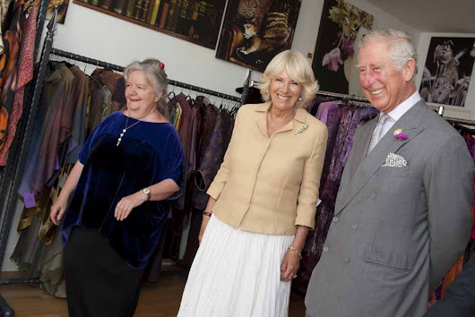 Our Newsletters - Charles and Patricia Lester - Luxury Fashion and Textile Artists