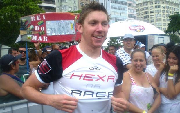 Trent Grimsey, Rei do Mar 2009 (Foto: Globoesporte.com)