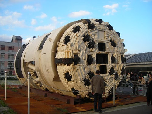Machines: TBM (Tunnel Boring Machine) Taiwan