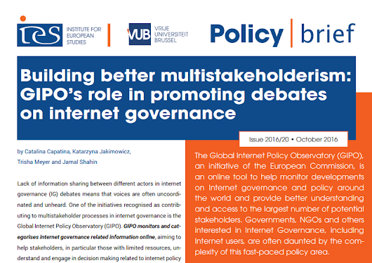 Policy Brief on Building Better Multistakeholderism | The Global Internet Policy Observatory (GIPO)