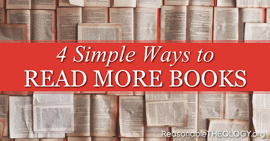 4 Simple Ways to Read More Books in 2018
