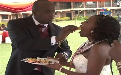NTV's Linus Kaikai Wedding Pictures