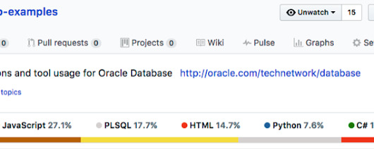 Oracle Database Examples Now on GitHub - DZone Database