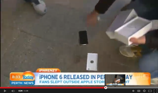 iPhone 6 Drop Test [VIDEO]
