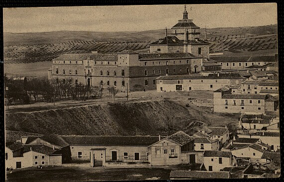 Hospital Tavera a comienzos del siglo XX. Postal de H.A.E.