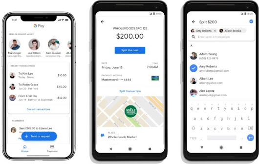 Google Pay rolls out support for peer-to-peer payments and mobile ticketing – TechCrunch