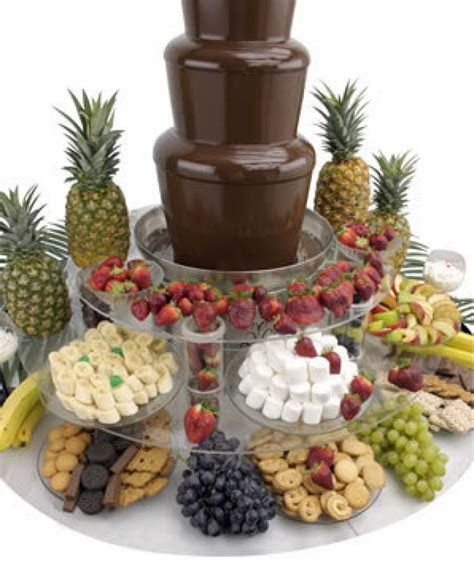 Cheap Chocolate Fountain   Recipes to try   Chocolate