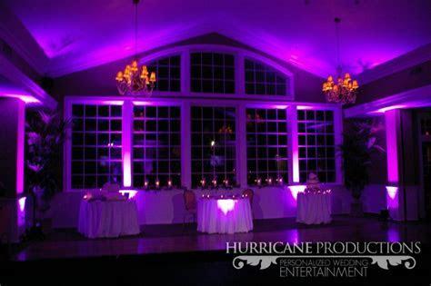 Wedding   Purple uplighting at Neshanic Valley Golf Course