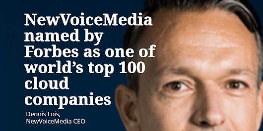 NewVoiceMedia named by Forbes as one of world's top 100 cloud companies - TheMarketingblog