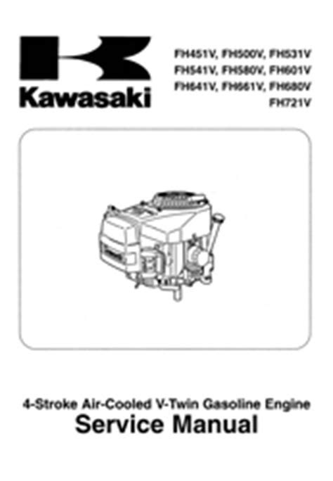 KAWASAKI SMALL ENGINE SERVICE MANUALS